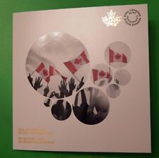 New 2015 Canada Official Collector Card for Canadian Flag 25c No Coins Included