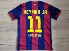 FC BARCELONA! 2014! NEYMAR shirt trikot maglia camiseta jersey! 5/6 ! M youth#