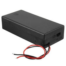 3.7v 2x 18650 Battery Holder Connector Storage Case On/off Switch With Lead G4b4