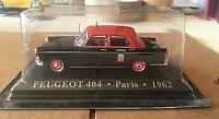 """DIE CAST """" PEUGEOT 404 - PARIS - 1962 """" 1/43 TAXI SCALA 1/43"""