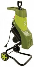 Electric Wood Chipper Shredder 1.5 in. 14 Amp Shred Branches Twigs into Mulch