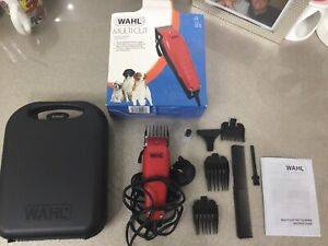 Wahl Animal Clipper Kit Dog Grooming Clippers With Carry Case