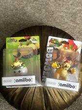 Amiibo Bowser Jr. (Super Smash Bros) + Bowser (Super Mario)