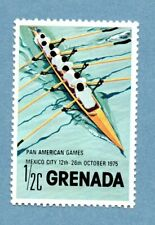 GRENADA stamp 1975 Pan-American Games, Mexico City SG737 Rowing