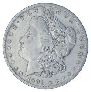 W@W Early 1891-O Morgan Silver Dollar - 90% US Coin - Nice Coin *683