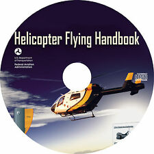 Helicopter Flying Handbook (2016) Pilot Technical Manual ~ Book on CD
