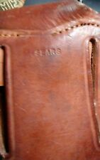Ww2 M1907 Sears Mfg Leather holster  M1911a1  pistol with web belt hanger minty!