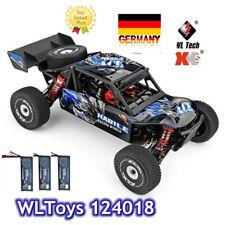 Wltoys 124018 High Speed Racing Car 1/12 2.4GHz RC Car Off-Road Drift Car Y2D2