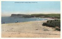 Rare Vintage Postcard - Strand & Fair Head, Ballycastle - Co. Antrim N.Ireland.