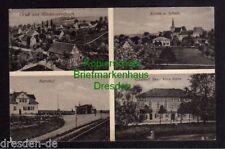 119616 AK Niedersteinbach Penig Kirche Schule 1930 Bahnhof Gasthof Arno Kühn