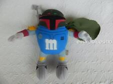 "Hasbro Blue M&M MPire Boba Fett Star Wars 7"" 2005 Stuffed Plush Toy EXCELLENT!"
