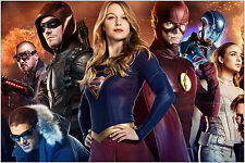 DC's Legends of Tomorrow Arrow Flash Heroes Large Maxi Poster Art Print 91x61 cm