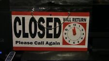 Open/Closed Hanging Sign