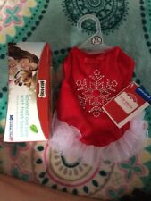 NWT Size XS Dog Holiday Dress And Box Of Treats (Box 10)