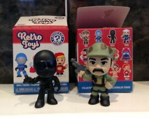 Funko Mystery Minis Retro Toys - G.I. Joe Snake Eyes & Leatherneck. New with Box