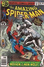 Amazing Spider-Man 190 Marvel Man-Wolf Spencer Smythe Marv Wolfman John Byrne Vf