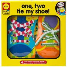 Toddler Toy Alex Toys Early Learning 1 2 Tie My Shoe -Little Hands 570Wn Kids