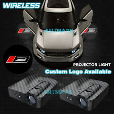 Wireless Car Door Projector Laser Logo Ghost Shadow Light For Ford Roush Stage 3 Fits Focus