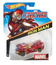 Hot Wheels 2016 1:64 Personnage Voitures Marvel #26 Guerre Civile Iron-man Asst.
