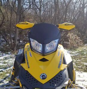 Low Black Windshield Fits Ski-Doo XP ~ 213 Parts