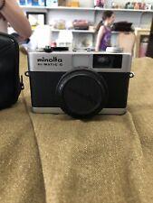 Minolta Hi-Matic G 35mm Rangefinder Camera - Good condition