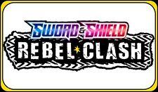 REBEL CLASH CODES ~ Pokemon Online Booster Code Card TCGO SWSH Digital SENT FAST