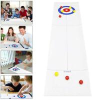 Tischspiel Bowling Spiel Curling Shuffleboard Gesellschaftsspiel Partyspiel