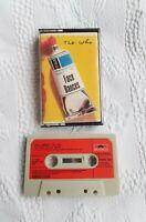 THE WHO Face Dances Cassette Tape Album Red Paper Labels. Polydor Ltd (UK) 1981.