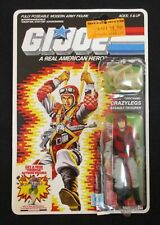 New listing Vintage G.I. Joe Crazylegs Figure Complete + Explosion Back Card 1986 Arah