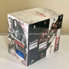 Criminal Minds The Complete Series Season 1-15 (85-Disc DVD Box Set) Region One