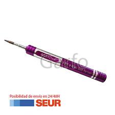 Destornillador Violeta Portatil Profesional Precision 0.6 Y para Iphone 7, 7+