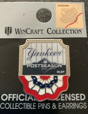 NY YANKEES PIN FLAG 2019 PLAYOFF BASEBALL POSTSEASON SERIES BRONX