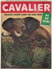 June 1956 Cavalier Action and Adventure For Men Magazine