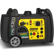 Champion 100263 - 3100 Watt Dual Fuel Inverter Generator w/ RV Outlet
