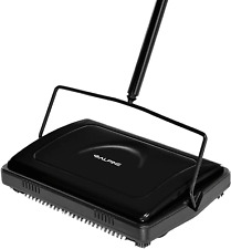 Floor Carpet Sweeper Cleaner - Heavy Duty Non Electric Multi-Surface