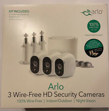 Arlo VMS3330W Security System with 3 HD Cameras - White