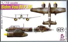 Unicraft Models 1/72 BLOHM und VOSS BV P.185 German WWII Bomber Project