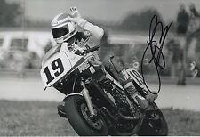Freddie Spencer Hand Signed 12x8 Photo Honda HRC MotoGP Legend 3.