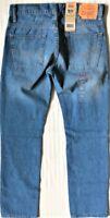 Levi's Boy's NWT 511 Size 16 Reg 28x28 Dallas Blue ~ Slim Fit ~ Vertical Stretch