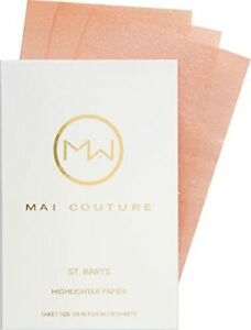 Mai Couture Women Skin Care Makeup Face Facial Highlighter Paper Sheets x50 NEW