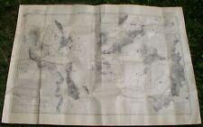 "Wwii Japanese Navy Map""East Coast of Australia""W/Cape Gloucester"