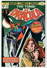 Marvel - TOMB OF DRACULA #26 - VF 1974 Vintage Comic