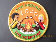 RAINBOWS/BROWNIES/GIRL GUIDES:~ FUN AROUND THE CAMPFIRE ~ FUN BADGE