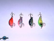 Lot de 4 poisson nageur Tiny Minnow 30S 3cm 2gr pêche truite chevesne perche