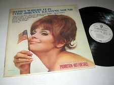 THE JOHNNY KEATING SOUND Here's Where It Is WARNER BROS. VG++/NM! Promo