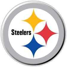 "Pittsburgh Steelers NFL Football Bumper Locker Notebook Sticker Decal 4.5""X4.5"""