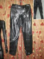 Latex (rubber) Zipper Pants -0.8mm suit catsuit unique