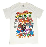 Disney Ducktales Cast Group Shot Distressed Graphic Tee Disneyland Mens T Shirt