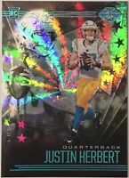 2020 Justin Herbert Illusions Starlight Rookie RC SP SSP RARE Chargers **READ**