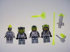 LEGO Vintage Explorien Space Minifigure lot Chief Droid Starship Android